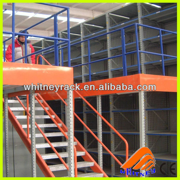 mezzanine shelving unit,mezzanine steel structure warehouse,platform building
