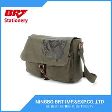Good sale army green children backpack canvas backpack