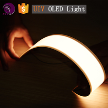 UIV CHEM_high quality flexible decoration oled light panel LG oled flexible Source factory price