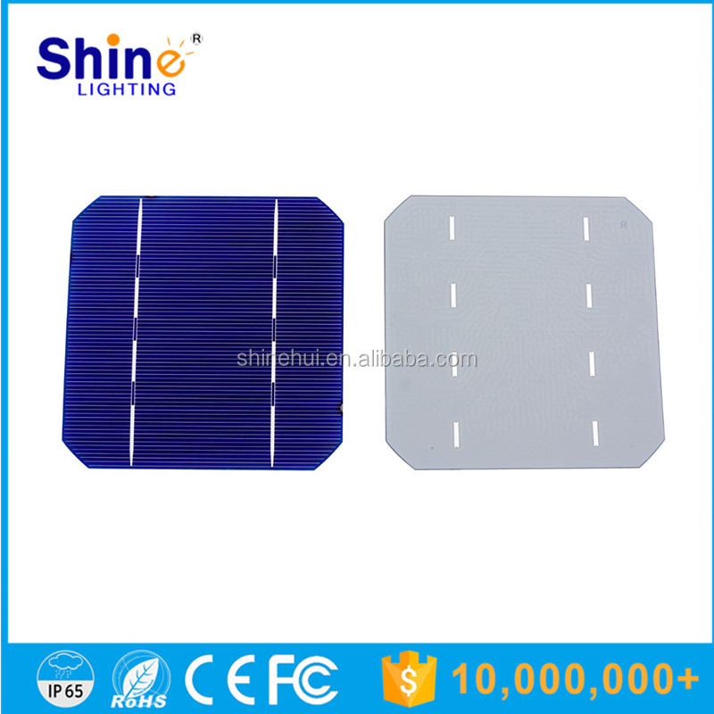 China manufacture high efficiency good price mono and poly solar cell used for solar street light