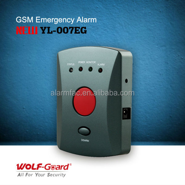 Emergency Alarm System ! YL-007EG <strong>GSM</strong> One Button <strong>GSM</strong> Emergency Alarm