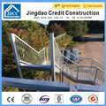 Galvanized steel platforms and stairs