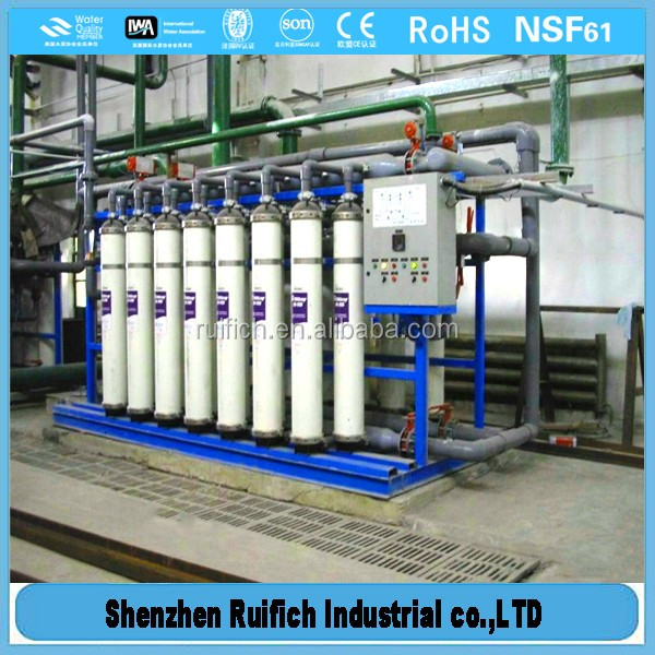 High level of uf membrane system,ultra filtration system for river water,river water purification system