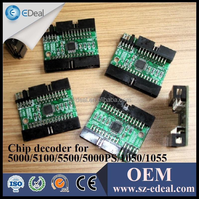 Decryption card for HP designjet 5500PS chip decoder