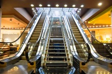 used china suzhou cheap price for indoor type home escalator