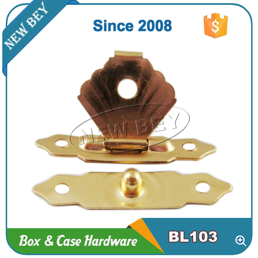 China Supplier Small Gold Metal Lock For Wooden Box