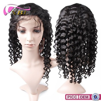 Shedding Free Tangle 100% Free Virgin Remy Human Hair Malaysian Full Lace Wig