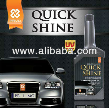 Car Care Cleaning Product: QUICK SHINE (Car Polish/Carnauba Wax)