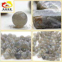10mm Grey color natural moonstone beads in loose stone
