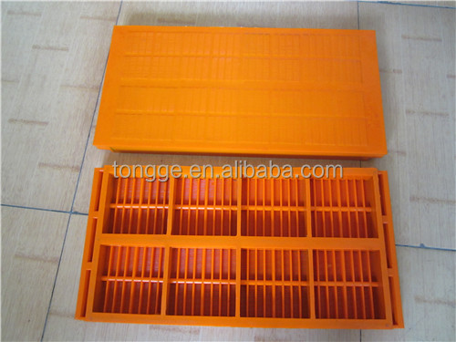 heat resistant polyurethane mesh screen for coal mining
