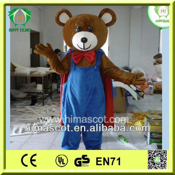 HI CE Top Sale Bear Wholesale Mascot Costumes