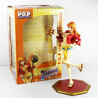 "Japenese anime One Piece POP Limited Edition Nami Ver.2 Mugiwara Ver. 23cm/9"" Collectible Toy Action figure"