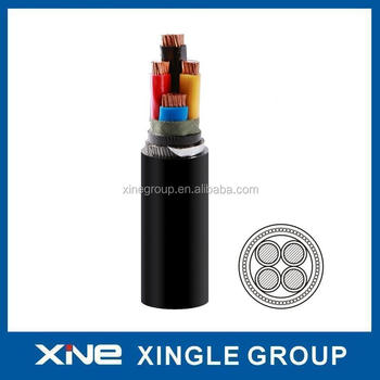 Low Voltage PVC Insulated Steel Wire Armored Cable LV Cable 0.6/1kV