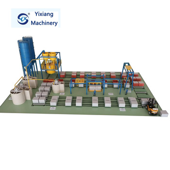 foam concrete block making machine