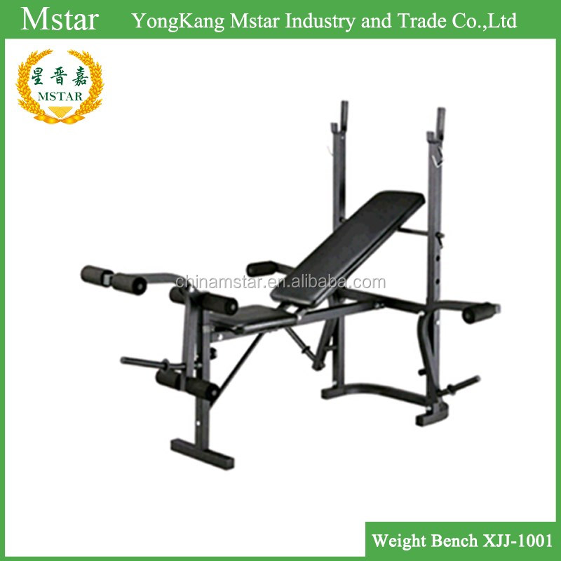 Gym equipment excel exercise weight bench