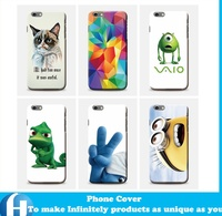 Cell Accessories Manufacturer Wholesale Custom Cheap 3D plastic PC Hard Mobile Phone Cases cover For iPhone 6 6S plus
