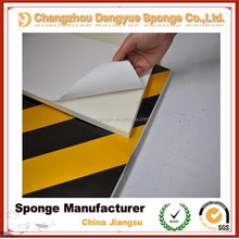 HOT!! Parking Lot Yellow-white car bumper reflective guard clear strip protection/car corner self-adhensive protector foam