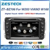 Car dvd gps radio for mercedes benz c-class w203 car dvd player