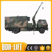 Factory direct sale 10 ton knuckle boom truck mounted crane for sale with CE