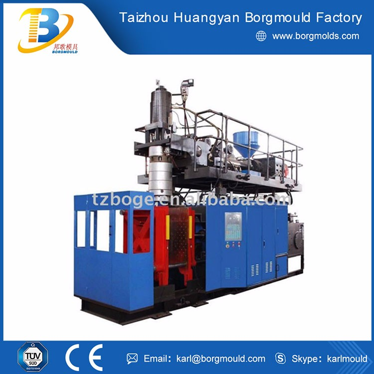 HDPE small shampoo bottle manufacture machine / extrusion blow moulding bottles
