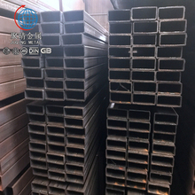 Raw Material Astm Big Black Square Tube Steel Pipe