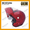 Custom Half Face ABS Carbon Fiber Motorcycle Helmet