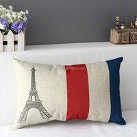 P-Series Diamate Paris tower designed basketball decoration cushions pillow