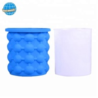 kitchen tools frozen beer drinks silicone ice bucket