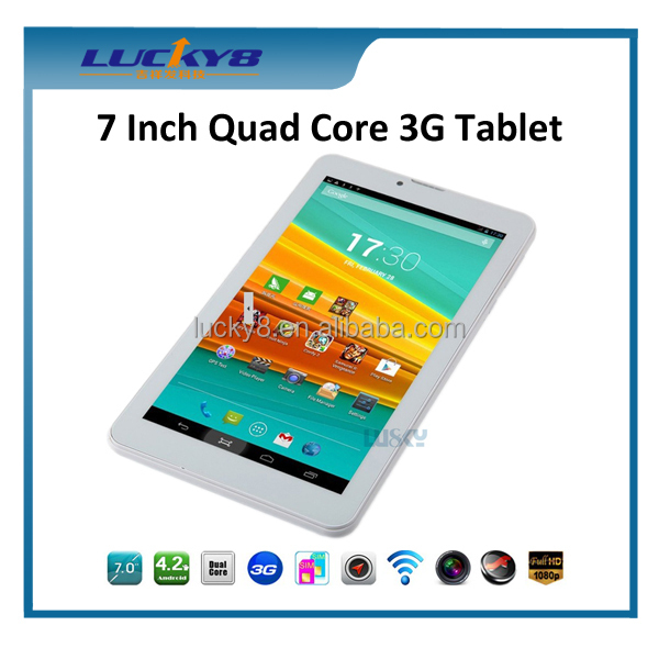 Hot selling 7 inch 3g/gps/bluetooth android phone with usb otg