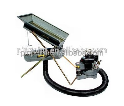 Concentrated solar power Dry Washer metal detector for gold find in desert no water for model MD-100 metal detector