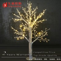 2016 New design snowing led birch branch / twig branch christmas tree lights