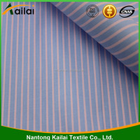 100% cotton stripe poplin fabric