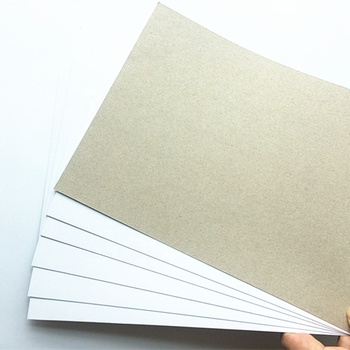 Coated one side paper c1s gray back duplex board