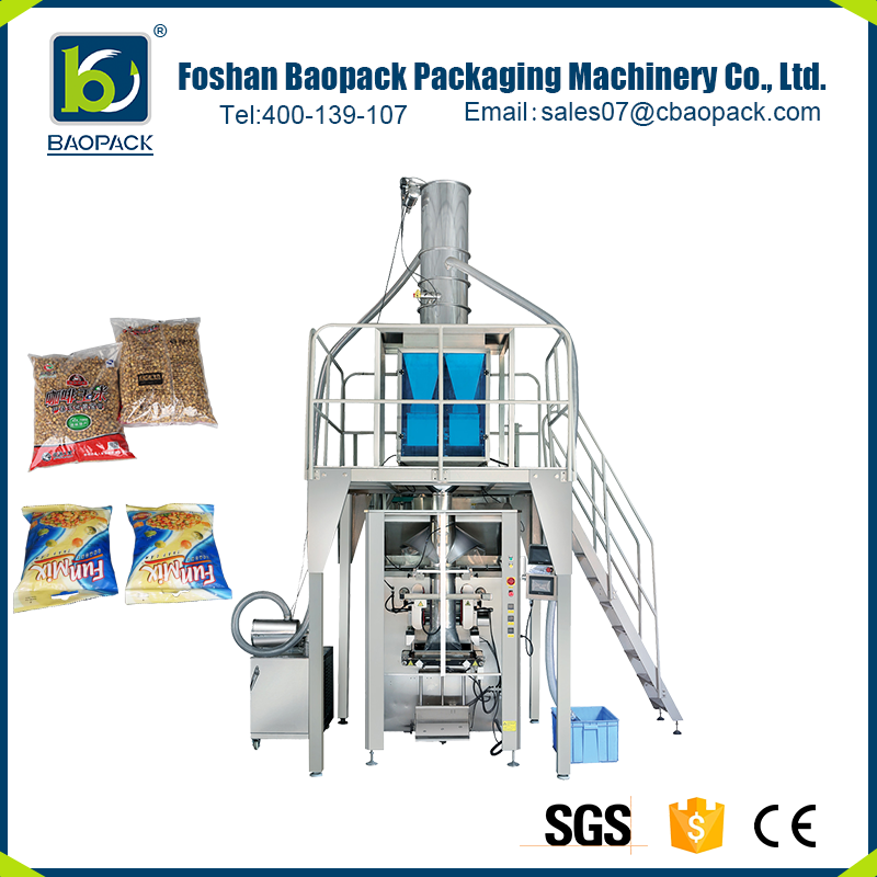 Wholesale electric pillow bag packing machine with nitrogen filling device