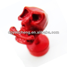 2014 fashion custom design red color earrings