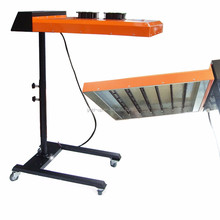Heating Area 500x600mm IR lamp screen printing flash dryer