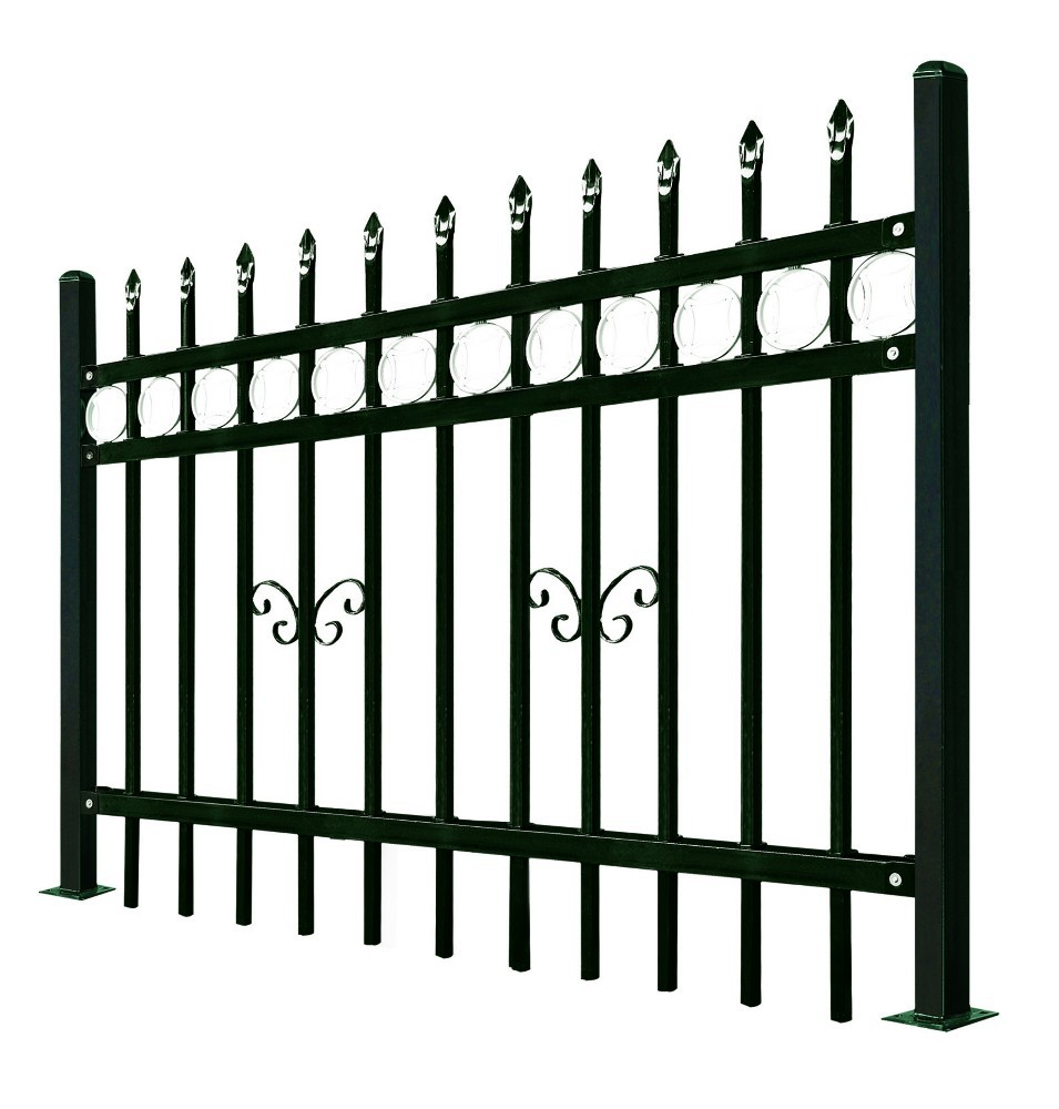 Wrought Iron Security Fence House Railing Security Grill