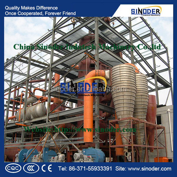 used cooking oil processing machine to make High quality biodiesel fuel
