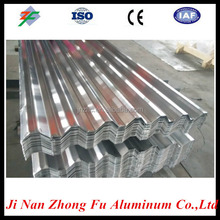 Popular sell corrugated aluminum sheet size 750,840,900,made in china