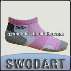 Soft wear women coolmax sport socks ankle socks