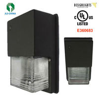 16W 5000K 1200 lumens LED Security Wall Light With UL DLC Approved