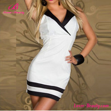2016 New arrive charming party mini white dresses for women