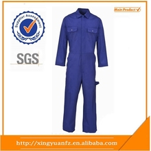 Star SG Custom mens polyester/cotton water and oil and gas workwear mechanic overall uniforms