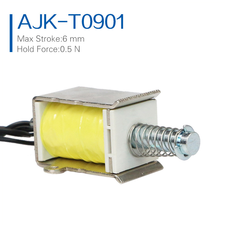 Factory Price Electric 12V 24V DC Small Micro Solenoid Electromagnet