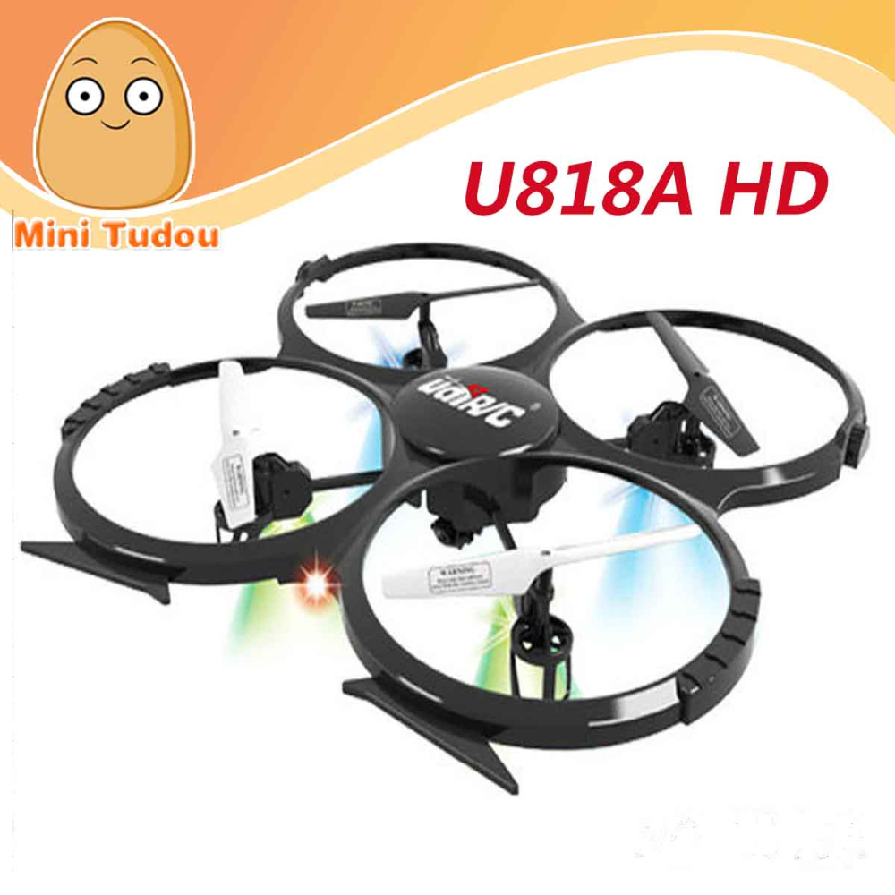 UDI U818A with HD camera 2.4GHz 4 CH 6 Axis Gyr