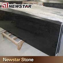 Black Galaxy Stone Black Granite Laminate Kitchen Island Countertop