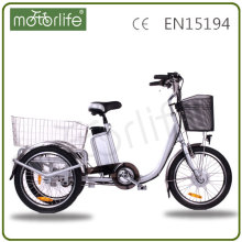 2017 best selling cheap 3 wheel electric bicycle 250w three wheel electric motor bike for sale