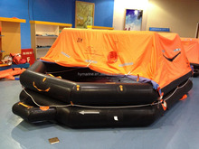 solas /MED approved throw over inflatable life rafts