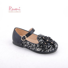 New sequin girls flowers sandals disposable kids ballet flats shoes
