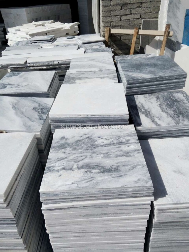 New Sytle Low Cost Italian White Marble Slab Carrara Tile